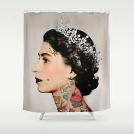 Rebel Queen Shower Curtain
