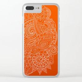 Hena II Clear iPhone Case