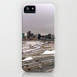Denvers First Snow iPhone Case