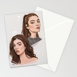 L digital portraits Stationery Cards