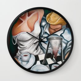 Cuban coffee for two. Wall Clock