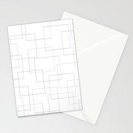 Inside the Box Modern Art Stationery Cards