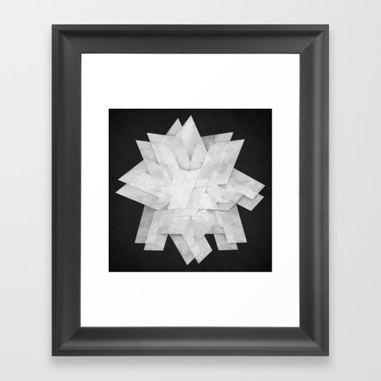 Folded Framed Art Print