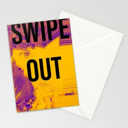 Swipe Out Stationery Cards