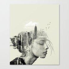 Reflection, New York City Canvas Print