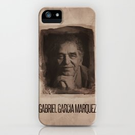Gabriel Garcia Marquez iPhone Case