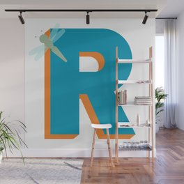 Letter R Wall Mural