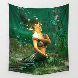 Deep-Sea Pearl Wall Tapestry
