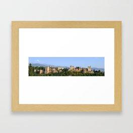 Granada, Spain - La Alhambra  Framed Art Print