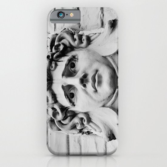Face of stone iPhone & iPod Case