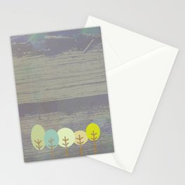 grove of trees Stationery Cards