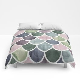 This Mermaid Life Subtle by Andrea Comforters