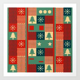 Christmas decoration Art Print