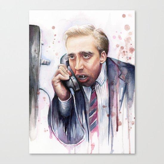 Nicolas Cage Vampire Meme Canvas Print