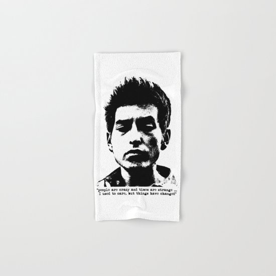 Bob Dylan Things Have Changed Hand & Bath Towel