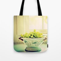 fruit Tote Bags featuring Fruit  by Jo Bekah Photography