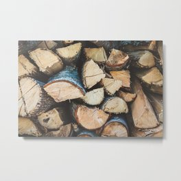 Wood / Photography Print / Photography / Color Photography Metal Print