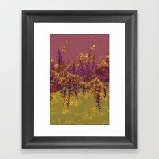 Island Floral Framed Art Print