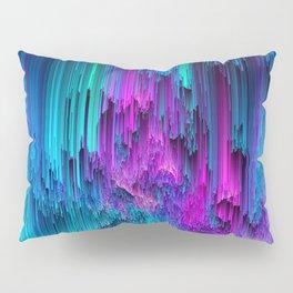 Neon Drifting - Pixel Art Pillow Sham