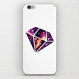 Galaxy Diamond iPhone Skin
