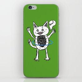 Monster Hula Hoop iPhone Skin