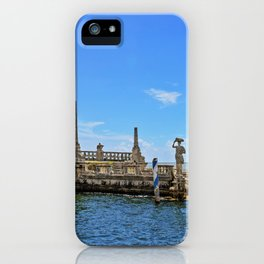 Vizcaya Barge Adventures iPhone Case