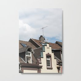 Historic house Metal Print