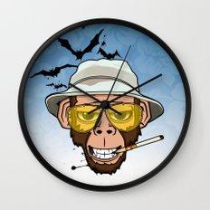 Monkey Business in Las Vegas Wall Clock