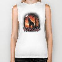 werewolf Biker Tanks featuring Werewolf by Antracit