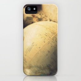 If I Could Travel The World iPhone Case