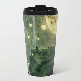 rooftops mystery night Travel Mug