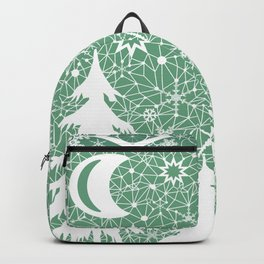 Lace Christmas pattern Backpack