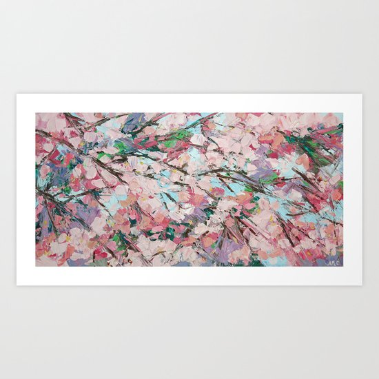 DC Cherries Art Print