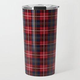Scottish Royal Modern Tartan Travel Mug
