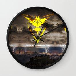 Team Instinct. Wall Clock