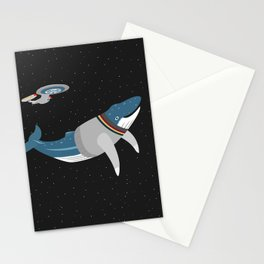 Whalesley Crusher Stationery Cards