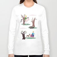 fairy tale Long Sleeve T-shirts featuring fairy tale by notbook