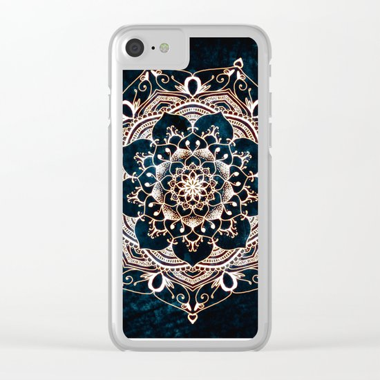 Glowing Spirit Clear iPhone Case