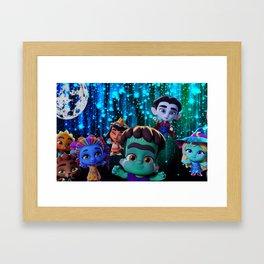 Super Monsters Framed Art Print