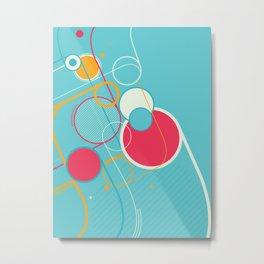 Ventana Azul Metal Print