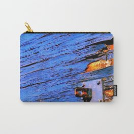 Blue Peel Carry-All Pouch