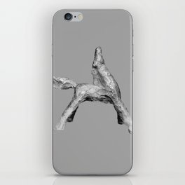 Exuberant Colts (bw) iPhone Skin