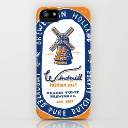 Windmill Premium Malt iPhone Case