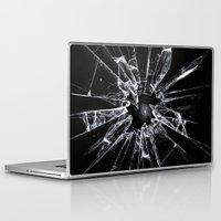 broken Laptop & iPad Skins featuring Broken by nicebleed
