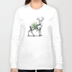 Whitetail Buck Long Sleeve T-shirt