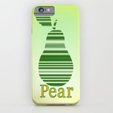 Pleasing Pear Slim Case iPhone 6s