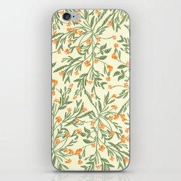Wonder Garden Pattern iPhone Skin