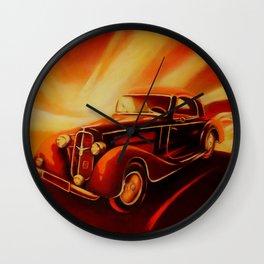 Classic Car - Retro Cars Wall Clock