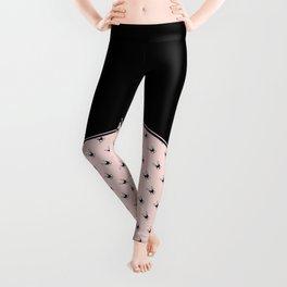 Bunny on Pink Leggings