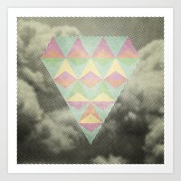 diamond Art Prints featuring Diamond by Metron